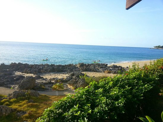 Sosua by the Sea: View from the open dining area