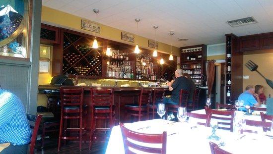 cozy interior - Picture of Stella Alpina Osteria, Burlingame ...