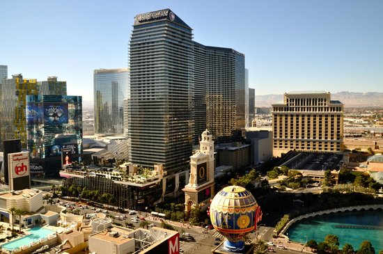 Paris Las Vegas: The view from our room