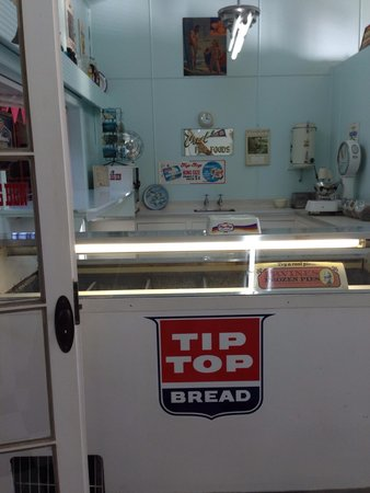 New Zealand Maritime Museum: Old fish n chip shop