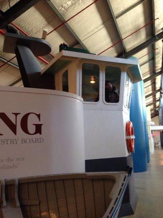 Voyager New Zealand Maritime Museum : Boat simulator