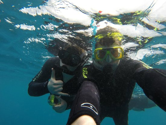 Cairns Dive Centre: Students snorkelin