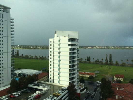 Novotel Perth Langley: view from our room