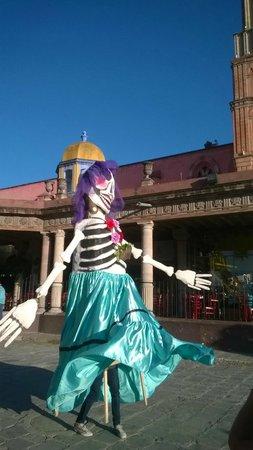 Real de Minas San Miguel de Allende: sabor por la plaza