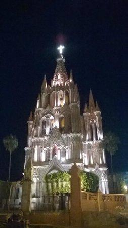 Real de Minas San Miguel de Allende: su catedral