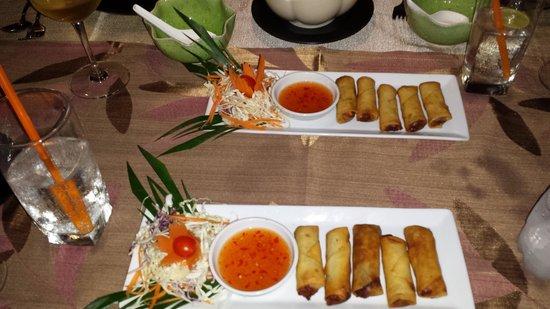 Kob Thai Restaurant: Antipasto di spring roll
