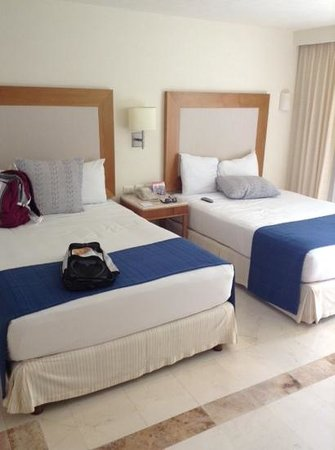 Grand Park Royal Cozumel : double beds