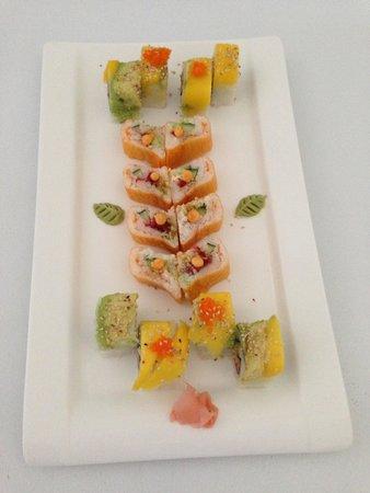Wok and Roll : Delicioso sushi