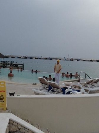 Grand Park Royal Cozumel: infinity pool
