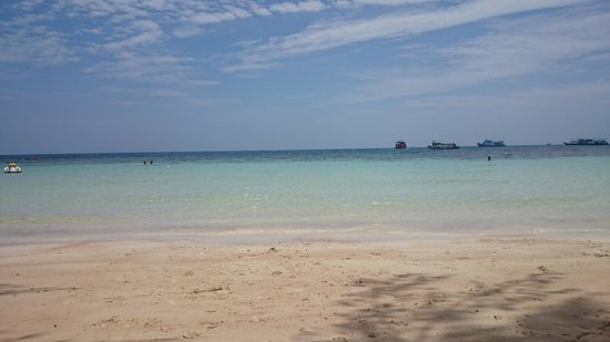 Ban's Diving Resort: Beautiful beach, great snorkeling