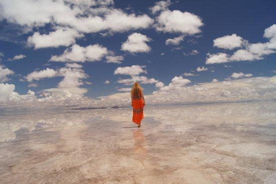 Salar de Uyuni: sky