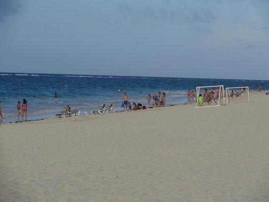 Bavaro Princess All Suites Resort, Spa & Casino: on the beach