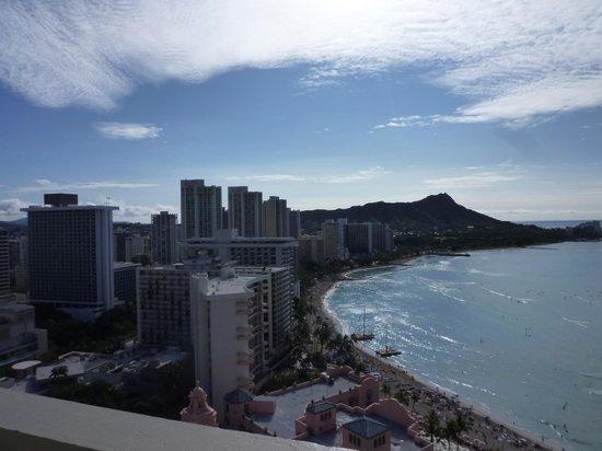 Sheraton Waikiki : サイコーの景色