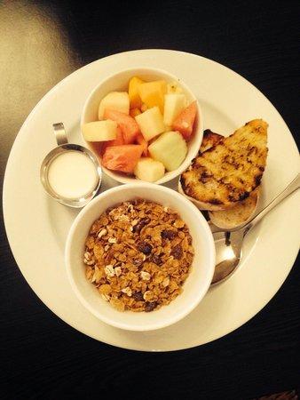 Exchange Hotel Mossman : Delicious Light Start Breakfast