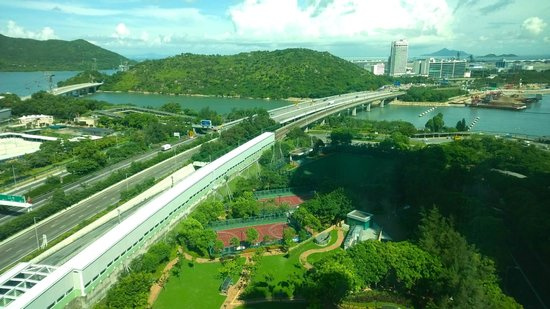 Novotel Citygate Hong Kong: View from hotel room