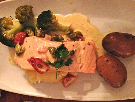 An Evening of Food, Folklore and Fairies: salmon