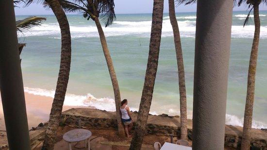 Beach Inns: seaview from balcony
