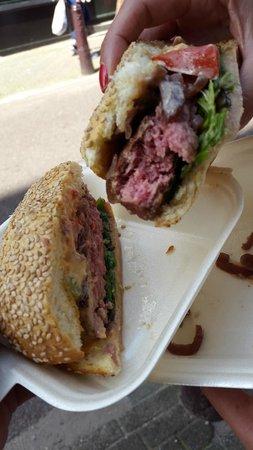 Lombardo's : Wagyu burger