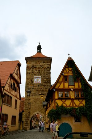 Rothenburg Town Hall (Rathaus): old town