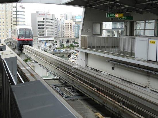 Yui Rail: 旭日橋駅