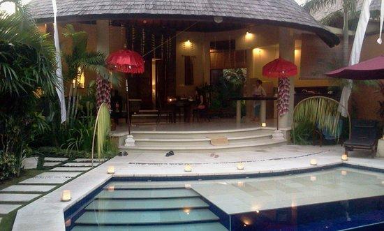Villa decoration for bbq - Picture of The Kunja Villas & Spa ...