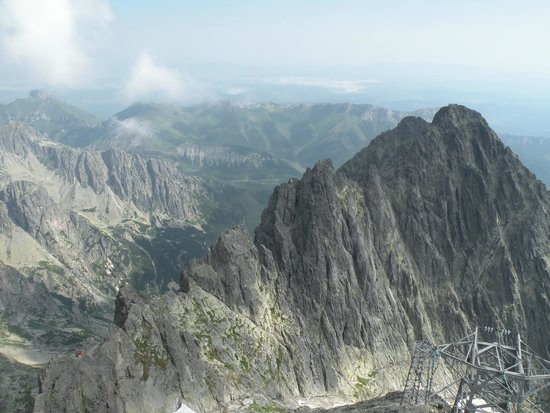Tatras National Park: View from Lomnicky