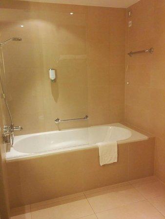 Austria Trend Hotel Savoyen Vienna: Room 207 bathtub