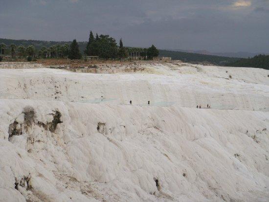 Hierapolis & Pamukkale: pure white