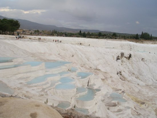 Hierapolis & Pamukkale: see the blue water