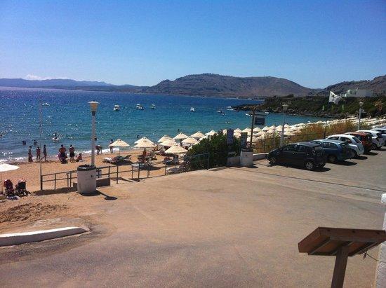Pefkos Beach Hotel: Pefkos beach