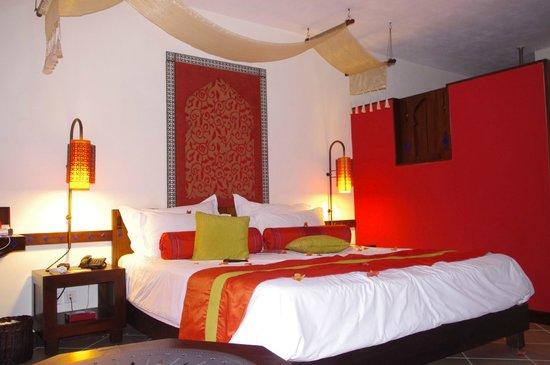 La Palmeraie Boutique Hotel: Notre Chambre....