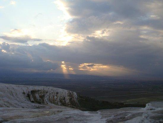 Hierapolis & Pamukkale: when the sun sets