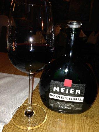 Hotel BurgGartenpalais: ローテンブルグのワイン