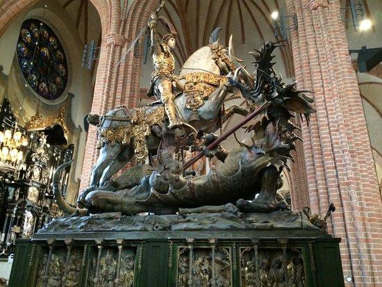 Domkirche Stockholm (St.-Nikolai-Kirche): San giorgio e il drago