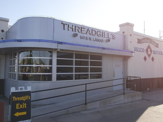 Threadgills: Front entrance area