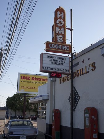 Threadgills: From the front