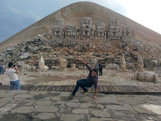 Mount Nemrut: poz