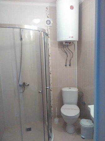 Zeus Hotel: Ванная комната