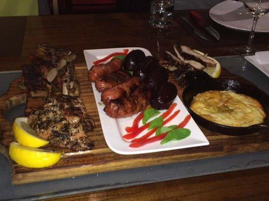 Steaks by Luis: Dinner Spread- YUM!!