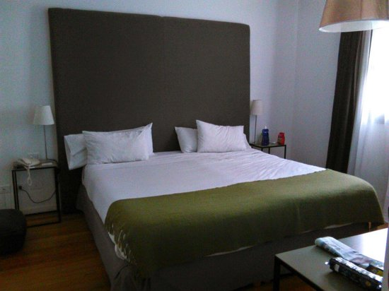 Esplendor Hotel Cervantes: Pedazo de cama!!!