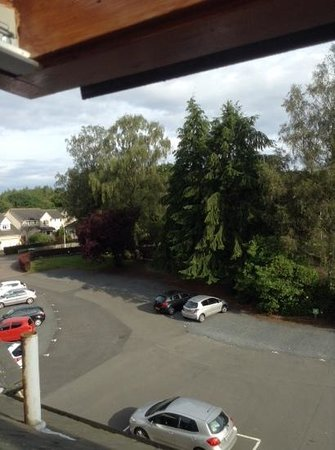 Best Western Balgeddie House Hotel: view out of my window