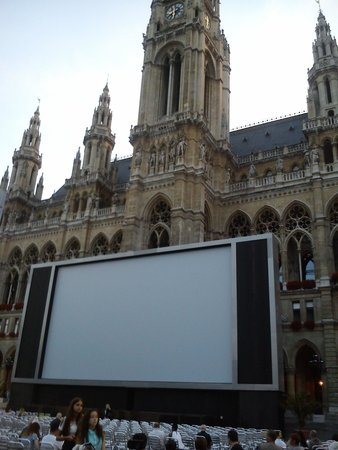 Rathaus: Film Festival Screen