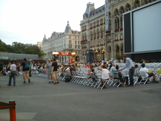 Rathaus: Film Festival seating