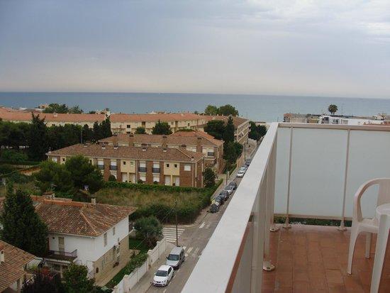 Ohtels San Salvador: вид с балкона