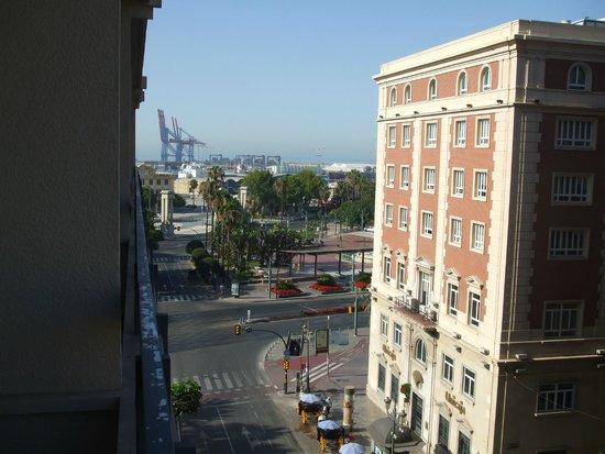 AC Hotel Malaga Palacio : view from room