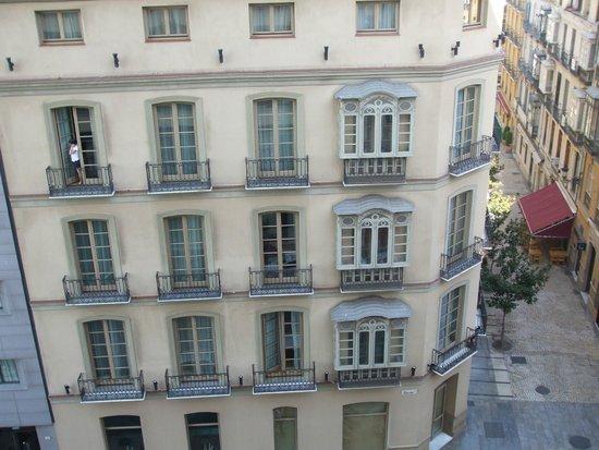 AC Hotel Malaga Palacio : views from the room