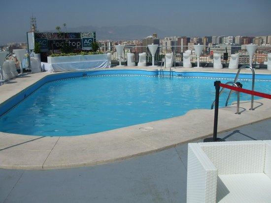 AC Hotel Malaga Palacio : roof terrace