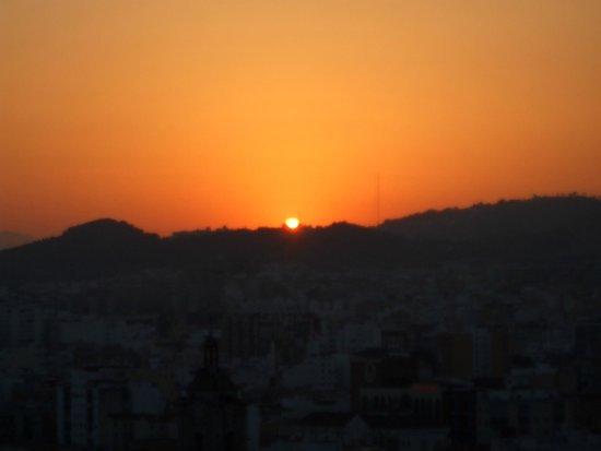 AC Hotel Malaga Palacio: beautiful sunset