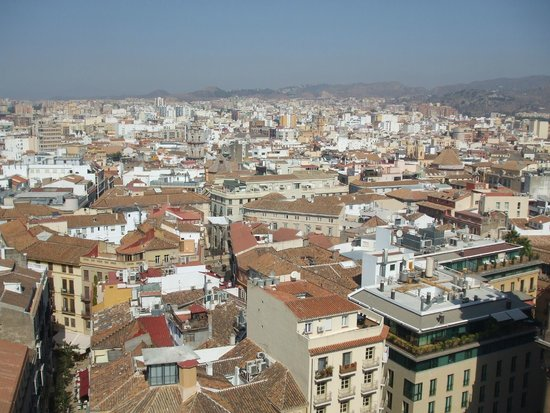 AC Hotel Malaga Palacio : view from roof terrace