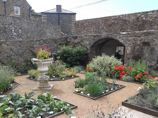 Castle Cornet: garden